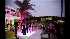 Brazil theme party