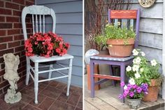 Déco récup' pour votre jardin !