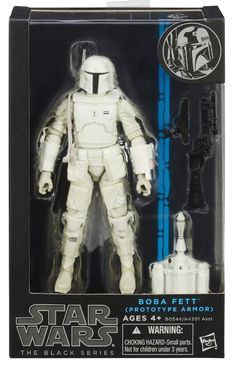 black series 6 inch figures | Boba Fett Prototype Armor Star Wars Black Series 6 Inch Exclusive ...