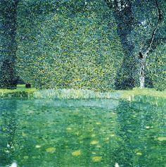 The Park of Schlossor Kammer n'y Gustav Klimt 1910