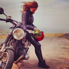 10 Reasons to date a Biker Chick Motorcycle Women, Motorcycle Art, Classic Motorcycle, Motorcycle Fashion, Motorcycle Touring, Motorcycle Quotes, Ducati Monster, Lady Biker, Biker Girl