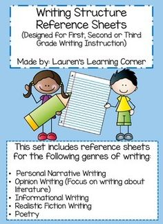 Writing can be challenging for students!  They need to think of an idea, remember the criteria and structure for each genre and write their story or piece.  This set of resource sheets can help focus students on the genre they are working on and provides them with structure, ideas, and examples for a variety of genres.