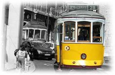 Online-Reiseführer Lissabon - Fahrt mit der Electrico Nr. 28 in Lissabon