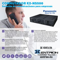 Ya estamos en marzo, y en este mes queremos sorprenderte con nuestras novedades. Hoy tenemos para ti el Conmutador Panasonic solución de comunicaciones para empresas. #conmutador #telefonía #Panasonic #Xentrion #comunicacion #empresa  01 [55] 5662 6377 • Whatsapp 5523798711 info@xentrion.com.mx • www.xentrion.com.mx  Insurgentes Sur 1768 PB, Col. Florida, CP 01030, CDMX.
