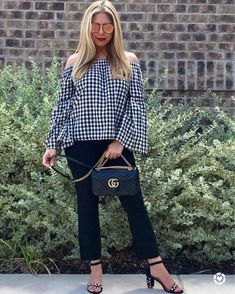 a68c9dbb7ee08a FASHIONPHILE. Gingham vibes plus Gucci