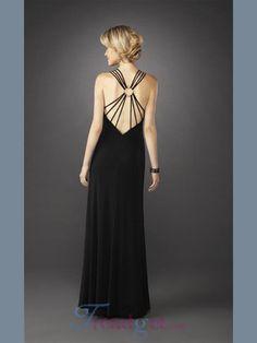 7be7154c705 Black Long Hot Cheap Evening Dresses -  126.99 - Trendget.com