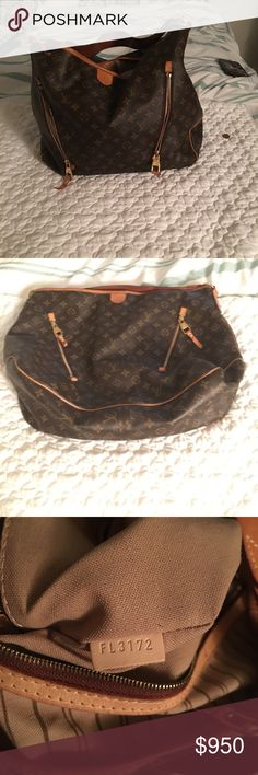 Louis Vuitton GM Monogram hobo handbag Very good condition just a little pen mark inside bag. Also I don't have the original dustbag but I do have a dustbag that I use. Only had it for 2yrs hardly ever use it. Bags Hobos