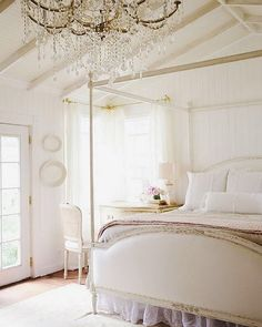 Dauphine bed. French Country cottage. Swedish decor inspiration, French and Gustavian Design Style from Eloquence. #swedish #interiordesign #frenchcountry #gustavian #nordic #decoratingideas #whitedecor #eloquence #furniture