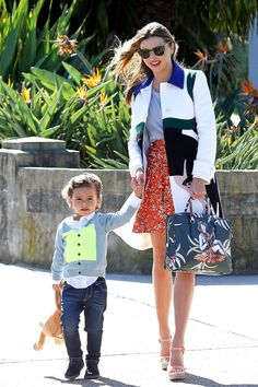 Miranda Kerr & Flynn: Baby Shower Bound