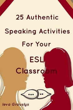Transform your speaking class with these 25 engaging speaking lessons! Perfect for ESL/ELL middle, high school and adult ESL. #esl #english #learn #teach #speak #speaking #lesson #speakinglesson #lessonplan #esllessonplan #activities #teacher #educate #education #middleschool #highschool #adulteducation