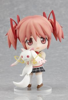 Nendoroid - Puella Magi Madoka Magica - Kaname Madoka School Uniform Ver. #175 $110 (I don't know this one but she is SO cute!)