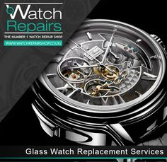 """Watch repair Shop offers """"Watch Glass Replacement Services"""" we can completely replace it at a relatively small cost compared to other Jewellers. Visit our shop at 34-35 Hatton Garden London, EC1N 8DX, or call us at: 0800 211 8959 or 0203 151 6799 for any inquiry related to your watch glass! For more information visit our webpage at www.watchrepairshop.co.uk #watchglass #watchrepai r#watchglassreplacement"""