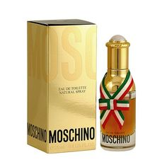 Moschino Eau De Toilette Spray  Moschino perfume for women is exotic and intriguing. A classic oriental fragrance that is both strong and wildly alluring, this fragrance is perfect for day or night. Due to its contents, this product cannot be shipped via our Priority Service or sent to  $42.00 as of 12/12/12 price and availability subject to change without notice.