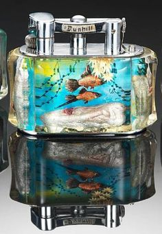 vintage dunhill acquarium lighter - Google Search
