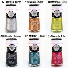 Metallic Nail Polish 30pcs. Nabi Metallic Nail Art ** You can find more details by visiting the image link.