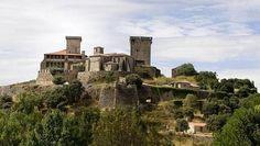 Castillo de Monterrei. Verin. Spain.  No sólo es un castillo, sino que es un recinto amurallado que forma una pequeña ciudad.
