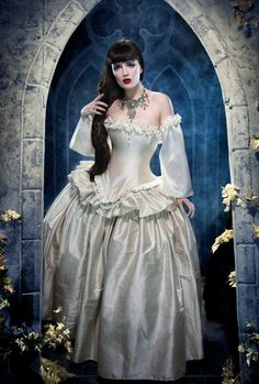 Cinderella Ball Gown Plus size Wedding Dress Fantasy Style- Custom to your Size and color. $775.00, via Etsy.
