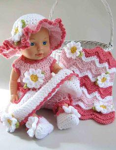 Baby Daisy Crochet Pattern