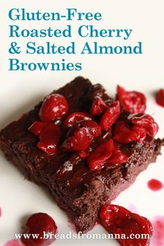 A delicious gluten-free chocolate and cherry dessert to serve your friends and family!