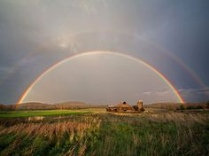 Rainbow, Lake Champlain by Alan Nyiri. This image was made on the afternoon of October just before sunset, near Lake Champlain in Vermont. Vermont, Beautiful World, Beautiful Places, Rainbow Photo, Lake Champlain, Before Sunset, National Geographic Photos, Over The Rainbow, Amazing Nature