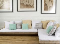 Cute floor couch.... Now where to actually find one...?
