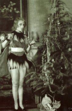 carole lombard christmas, 1920s