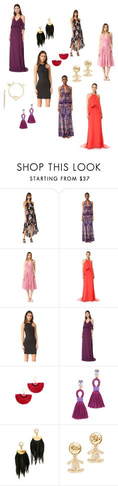 """""""Glamour Never Takes A Day Off..**"""" by yagna ❤ liked on Polyvore featuring MINKPINK, Roberto Cavalli, MDS Stripes, Monique Lhuillier, Joanna August, Shashi, Oscar de la Renta, Lizzie Fortunato, Kate Spade and vintage"""