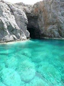 Grotta a Porto Sciusciau sardegna