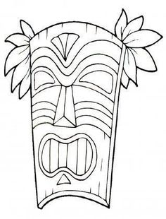 mayan face mask coloring page from mayan art category select from
