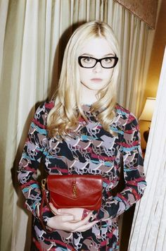 Elle Fanning for Marc by Marc Jacobs FW11