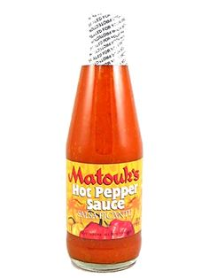 Matouk's Salsa Picante Hot Pepper Sauce is #9 on our list of top 10 best-selling products. This thick, savory hot sauce from Trinidad & Tobago is made from aged pickled scotch bonnet peppers in a tangy mustard base. On sale for $4.95 here: http://www.carolinasauces.com/Matouk_s_Salsa_Picante_Hot_Pepper_Sauce_p/1423sp.htm