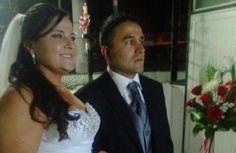 Se casaron Julio César y Sandra Milena