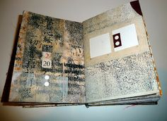 wabisabiart: A Book of Numbers...a most fantastic artists book...many pages shown