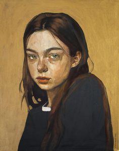 Self Portrait Drawing, Potrait Painting, Acrylic Portrait Painting, Eye Painting, Painting Of Girl, Creative Self Portraits, Sad Art, Realistic Paintings, Realism Art