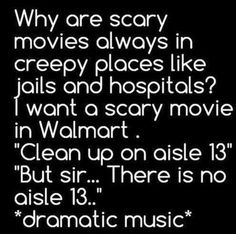 Funny pictures about Scary Movies These Days. Oh, and cool pics about Scary Movies These Days. Also, Scary Movies These Days photos. Funny Scary Movies, Funny Stuff, Funny Things, Horror Movies, Random Stuff, Scary Stuff, Funny Horror, Random Things, Hilarious Pictures