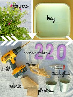 Learn how to make a hanging door planter from a basic wooden tray >> http://blog.hgtv.com/design/2015/07/08/how-to-turn-a-basic-tray-into-a-hanging-door-planter/?soc=pinterest