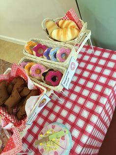 some felt doughnuts