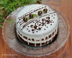 Cake Decorating For Beginners, New Cake, Pastry Cake, Dessert Recipes, Desserts, Homemade Cakes, Mini Cakes, Cooking Tips, Cheesecake