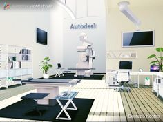 Sehen Sie sich mein #Innendesign 'Doctor Room Design By C
