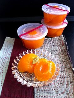 compote (apricot) with cardamon