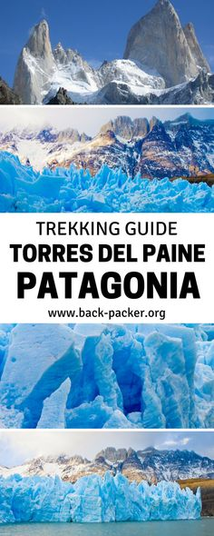 A complete guide to trekking the Torres Del Paine Circuit in Patagonia (Chile).  Tips for hiking through the national park over 7 to 9 days with different route options and a day-by-day itinerary, as well as practical tips for your adventure. Travel in South America. | Back-packer.org#Patagonia #Chile