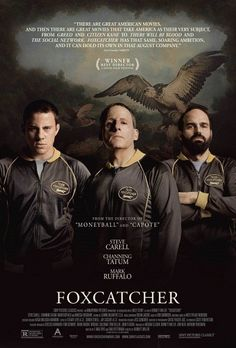 Foxcatcher Takimi - 2014 - BRRip Film Afis Movie Poster