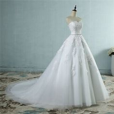 Cheap wedding dress for bride, Buy Quality sexy wedding dress directly from China fashion wedding dress Suppliers: 2017 lace flower Sweetheart White Ivory Fashion Sexy Wedding Dresses for brides plus size maxi size Wedding Gown Off Shoulder, Wedding Dress Backs, Sweetheart Wedding Dress, Backless Wedding, Wedding Dress Sizes, Sexy Wedding Dresses, Cheap Wedding Dress, Bridal Dresses, Wedding Gowns
