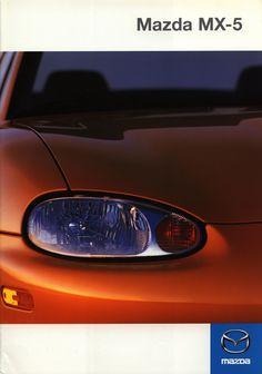 https://flic.kr/p/F955tK | Mazda MX-5; 1999_1 | front cover car brochure by worldtravellib World Travel library