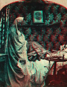 3D anaglyph,  1860