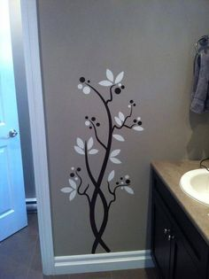 Fun vinyl accent! danettedesigns4u.uppercaseliving.net