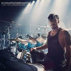 Shannon Leto - king of drums - 30 seconds to mars
