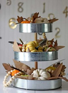 easy diy fall centerpiece idea
