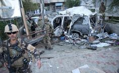 Suicide car bombing targeting NATO convoy in Afghanistan kills 3 American contractors | Fox News