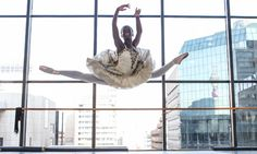 Michaela DePrince-as a Sierra Leone war orphan she dreamed of becoming a ballerina.......10 years later she did!  http://www.guardian.co.uk/stage/2012/jul/16/sierra-leone-ballet-mchaela-deprince#